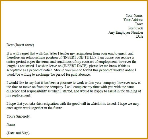 Best 25 Formal Resignation Letter Sample Ideas Pinterest 487520