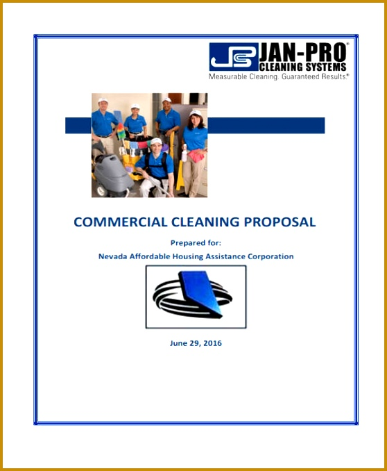 mercial Cleaning Proposal 678558