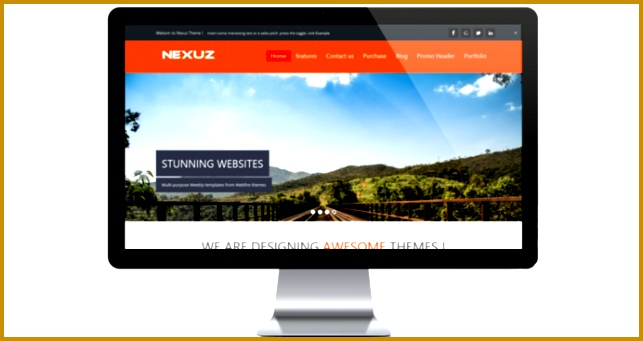 The Nexus Template weebly 341643
