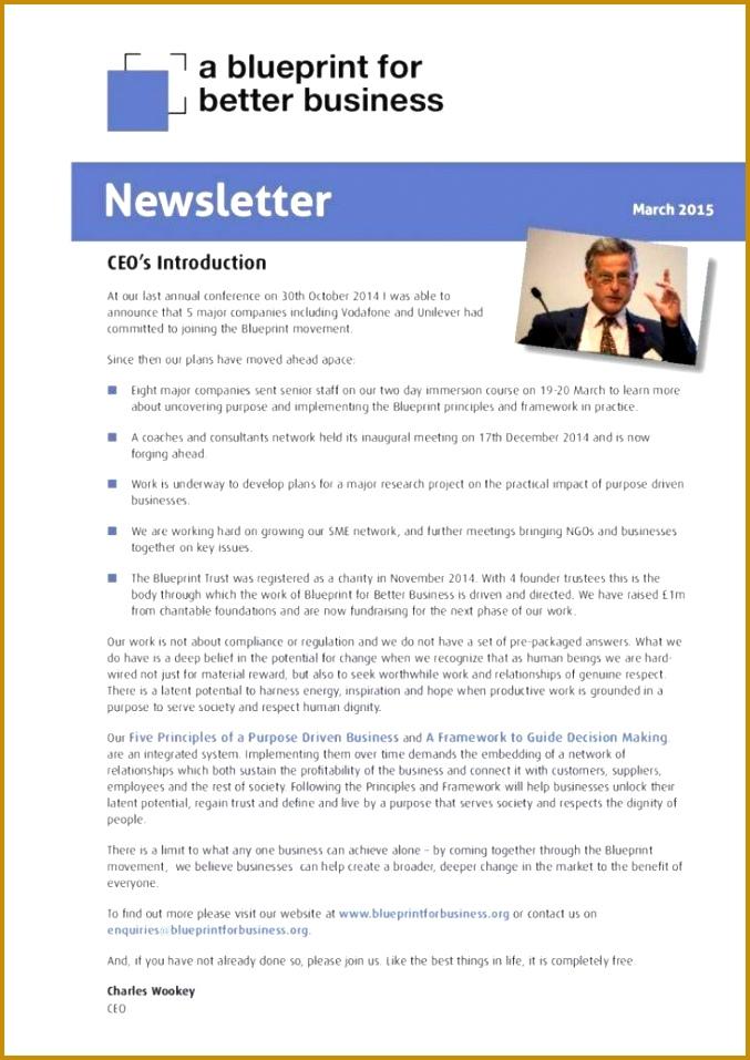 Best Free Employee Newsletter Templates 957677