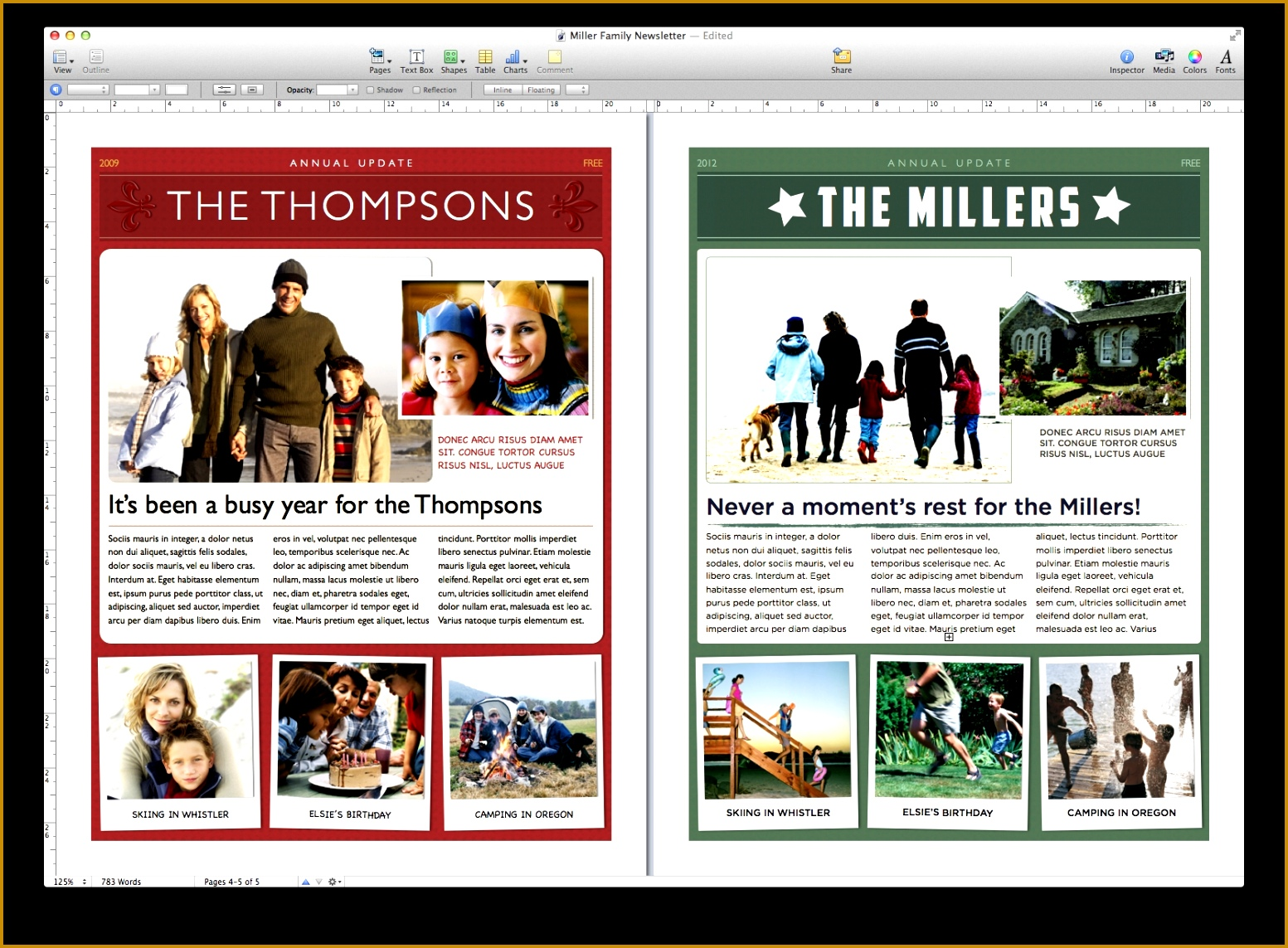 employee newsletter templates doc holiday newsletter template u2013 worddraw free christmas 15531143