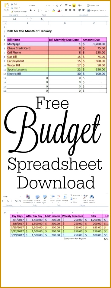 Download your own Free Bud Spreadsheet template and tips on how to keep track of 952368