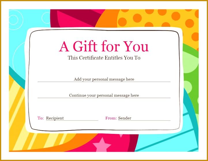 Birthday t certificate Bright design 558721