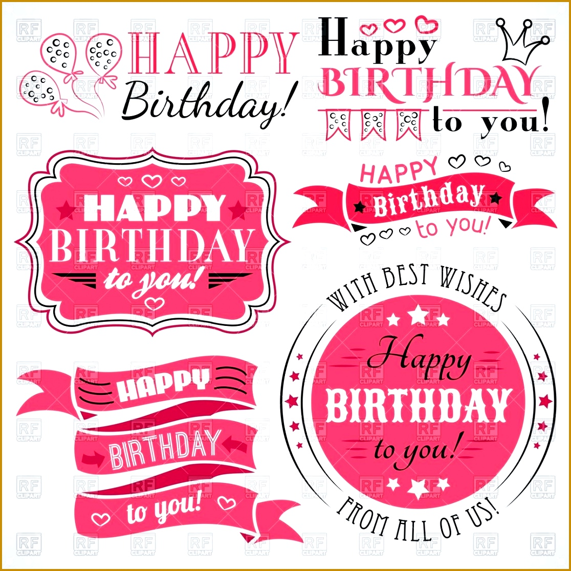 free happy birthday banner templates business flyer template vector clipart image u2013 rfclipart 11161116