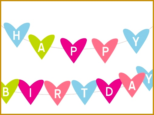 Free Printable Happy Birthday Banner Templates Best Business 381508