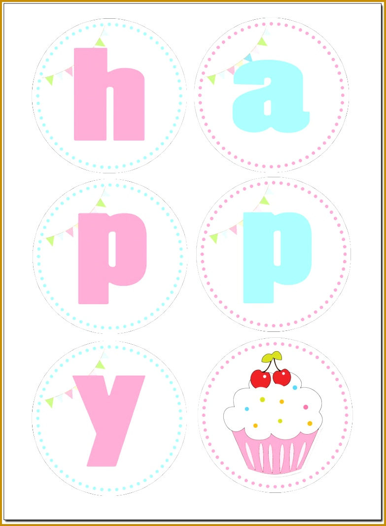 6 Free Happy Birthday Banner Templates Download