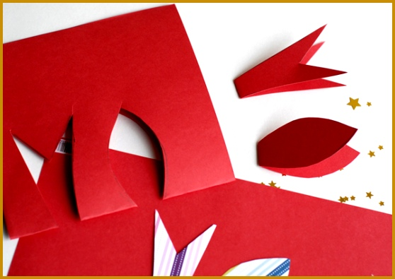 Cut Templates for Paper Bows 395558
