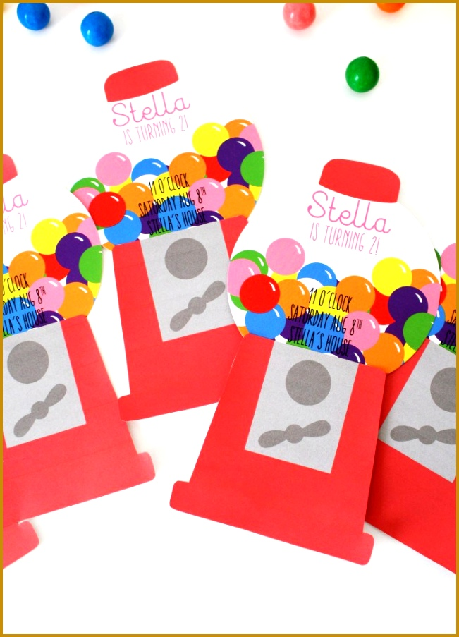 7 Free Printable Candyland Invitations