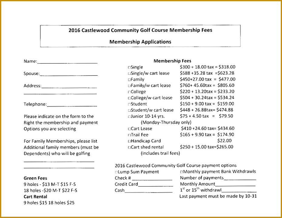 5 Golf Cart Rental Agreement Fabtemplatez