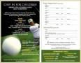 5 Golf Registration form Template
