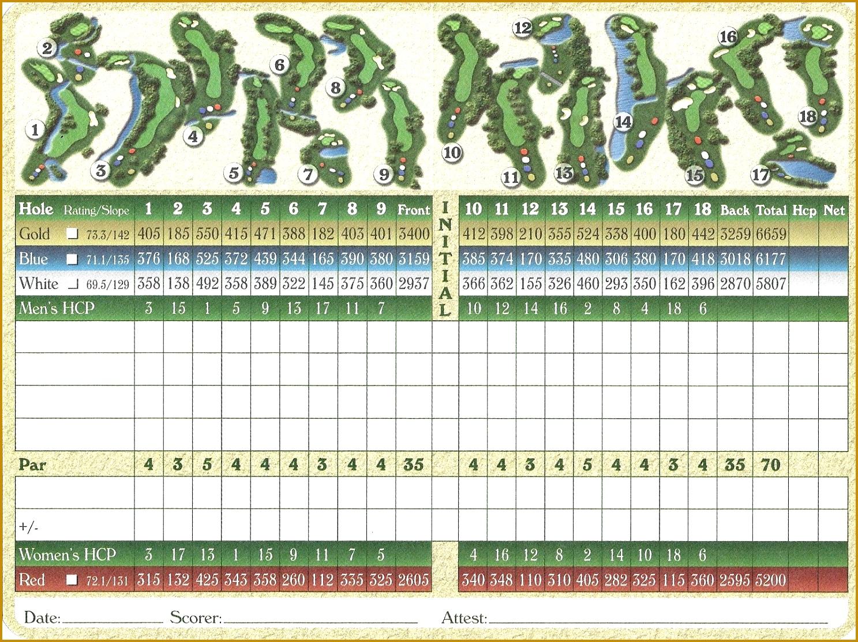 Golf Scorecard Template Excel Exltemplates Template Mini Golf Free Templates Golf Scorecard Template Golf Scorecard Template 11131487