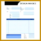 Amazing Graphic Design Invoice Template PDF 139139