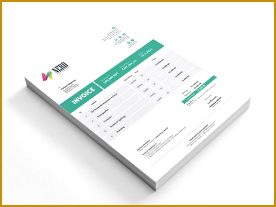 34 Billing Invoice Template in AI EPS and PDF – Free 548411