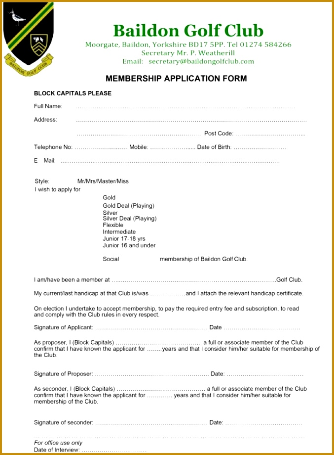 Download Free Gym Membership Contract Template For Free TidyForm 677920