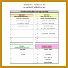 10 Sign Up Sheet Templates – Free Sample Example Format throughout Christmas Potluck 139139