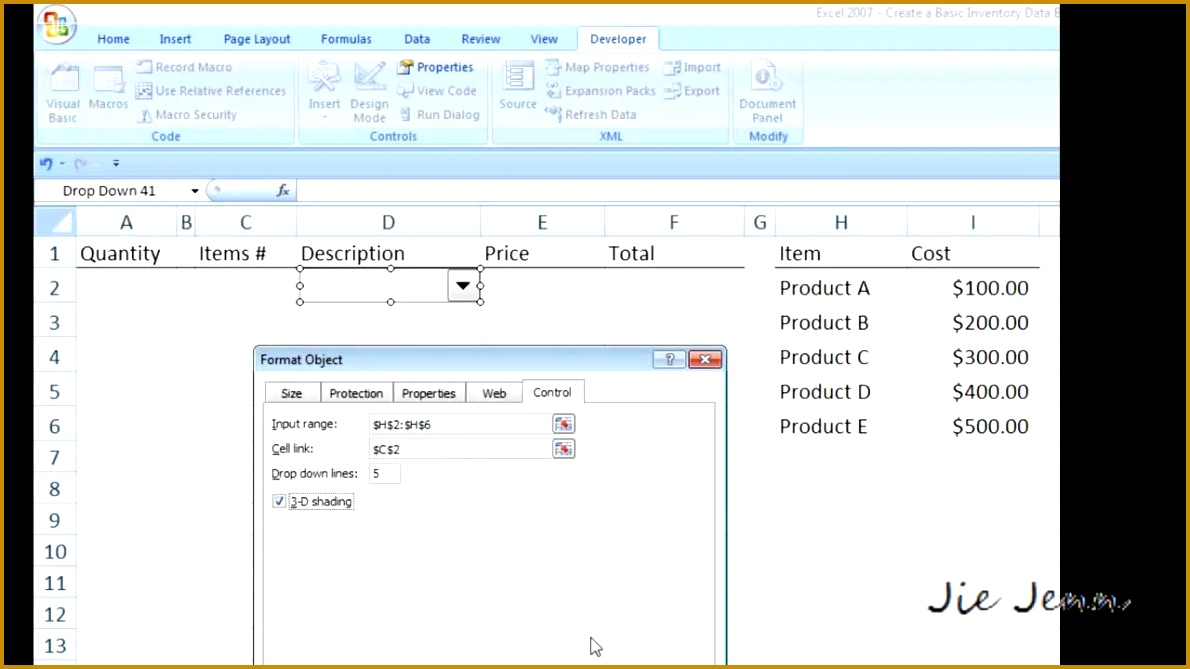 4 How to Create An Inventory Database In Excel   FabTemplatez