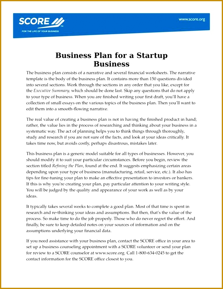 Small Business Proposal Template in Word 948732