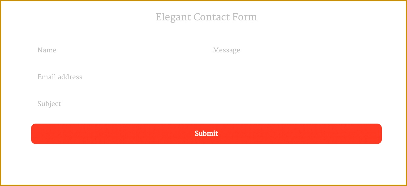 Top 16 Free HTML5 & CSS3 Contact Form Templates 2017 1294593