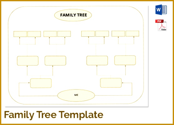 3 Immediate Family Tree Template Fabtemplatez