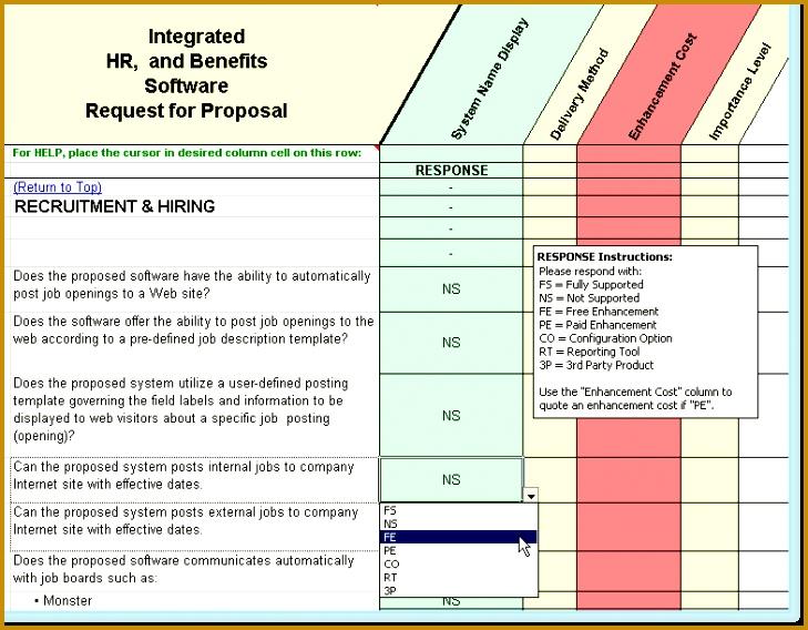 6 Information System Proposal Template Fabtemplatez