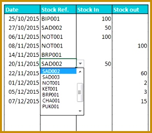 Stock Inventory Tool 274314