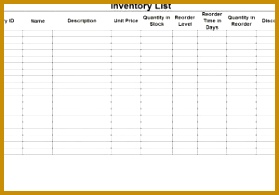 Tool Inventory Sign Out Sheet and Inventory Spreadsheet Template 195279