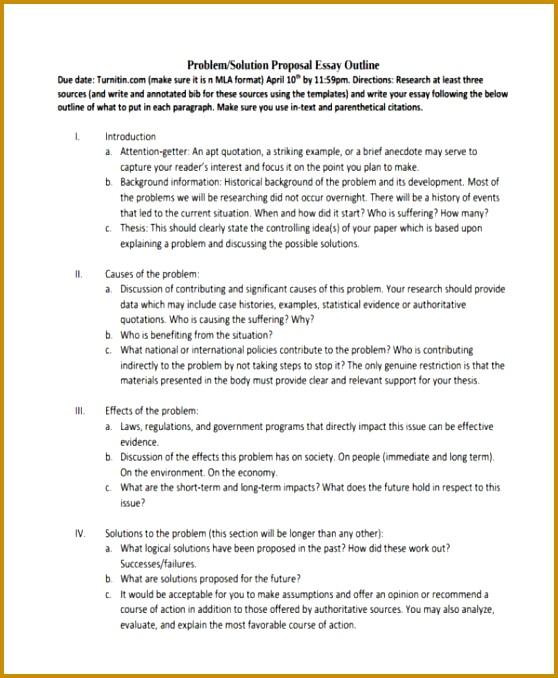 Essay Proposal Outline 678558