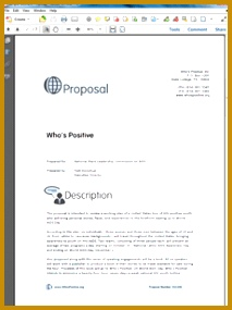 it support proposal template