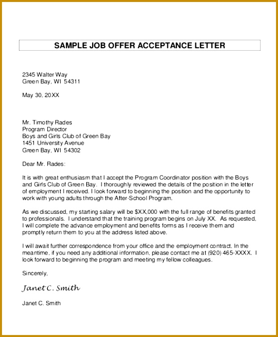 5 Job Proposal Letter Template   FabTemplatez