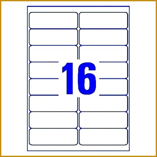 address label template 16 per sheet 502502