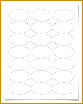 Oval Label Oval Stickers 273343