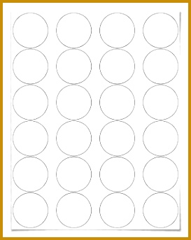 Free blank label template WL 325 round label template in Word c 343273