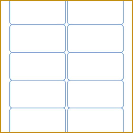 2x4 Labels Template 3 Per Sheet 558558