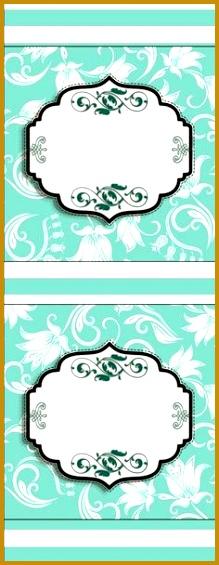 Fiesta Tiffany Etiquetas para Candy Bar para Imprimir Gratis 219565