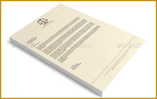 20 Law Firm Letterhead Templates – Free Sample Example Format Download 345544