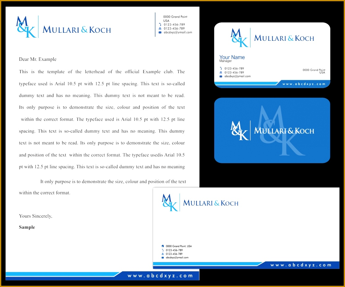 Letterhead Design by Logo Vision for Law Firm from Estonia E S T O N I A Country of nice 9301116