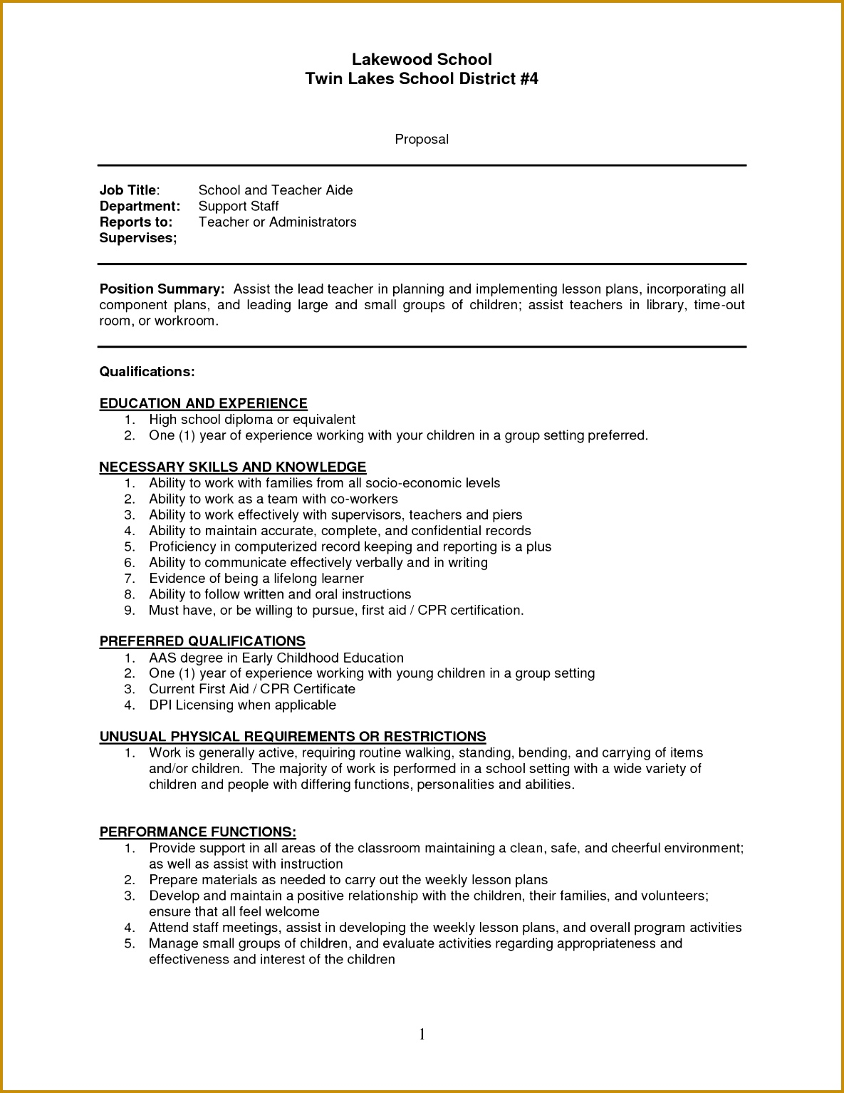 mesmerizing resumes for assistant principals for teacher assistant sample resume sample resume of teachers aides of resumes for assistant principals 15341185