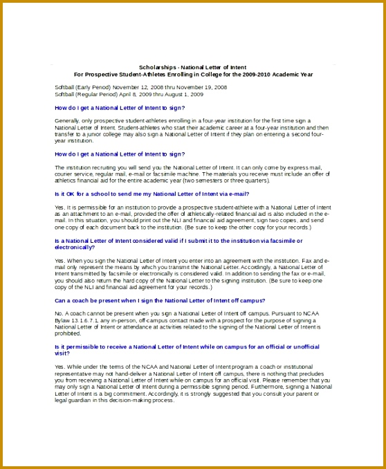 14 Letter of intent Templates Free Sample Example Format 678558