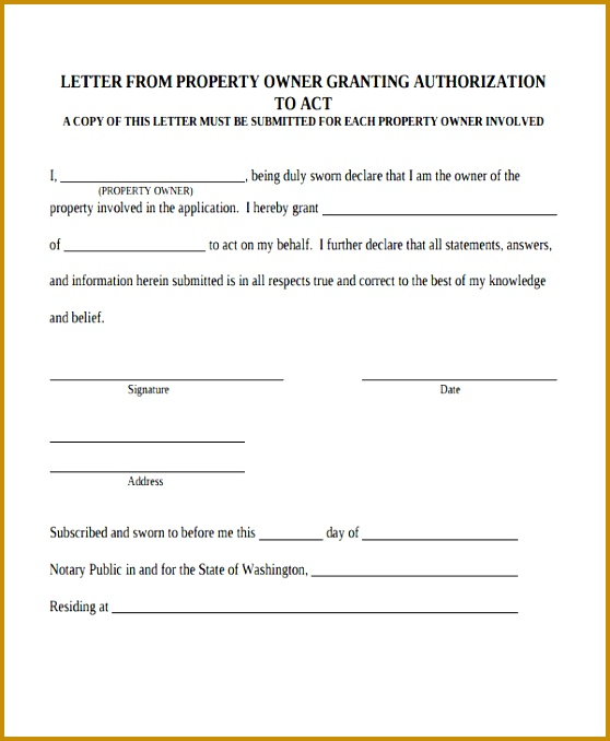 Property Ownership Transfer Letter Template 678558