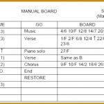 Lighting Cue Sheet Template 85378 Stage Lighting Cue Sheet Template