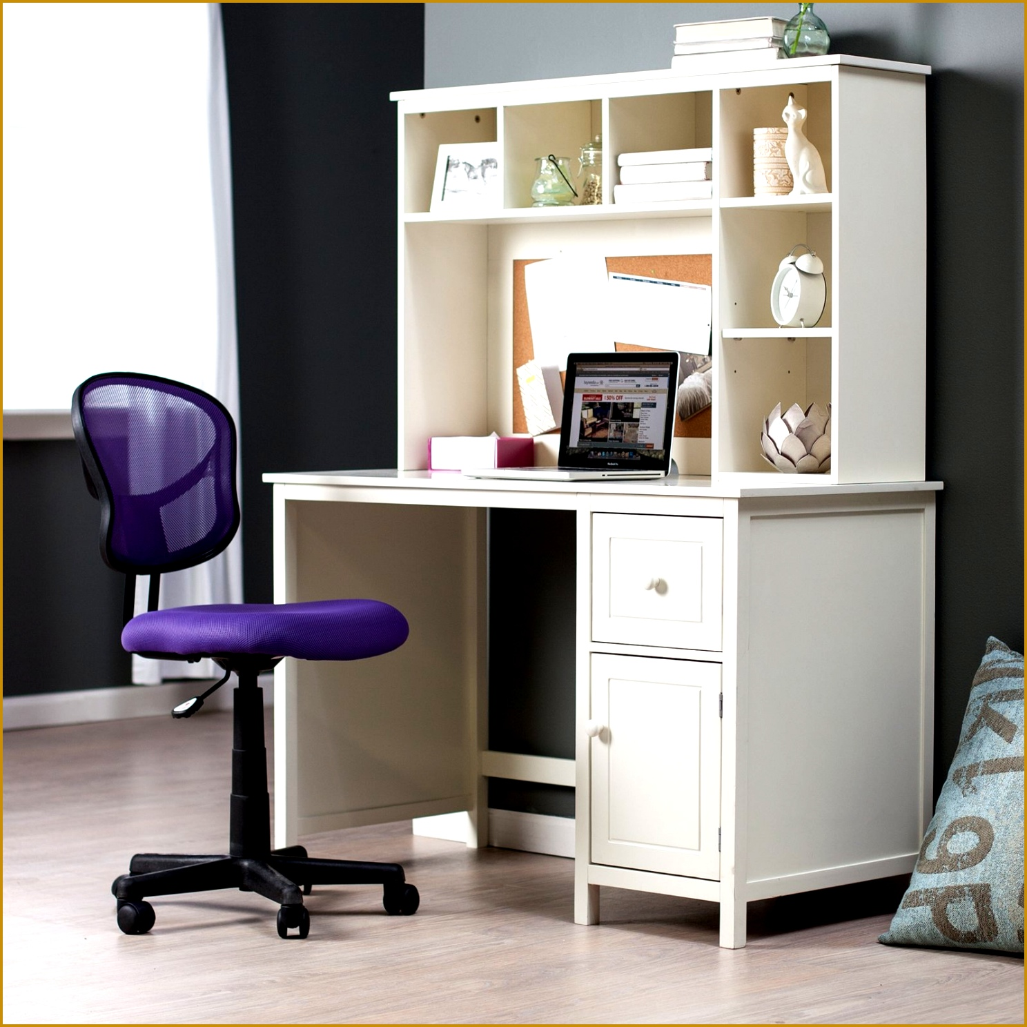 Furniture Fabulous White Home fice Furniture Design Using White Desk With Cabinet And Bookcase Fixture 14881488