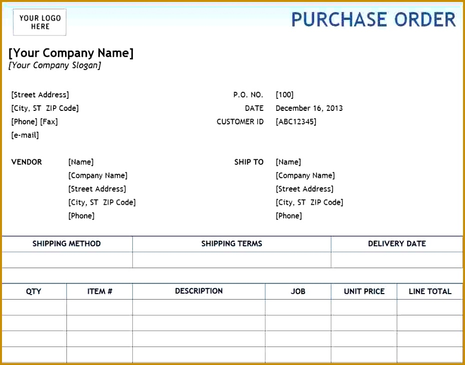 Amazing Local Purchase Order Template Images   Resume Examples And .  Lpo Template