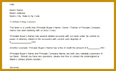 Sample Proof Funds Letter – 7 Download Free Documents In Pdf Word with regard 139227