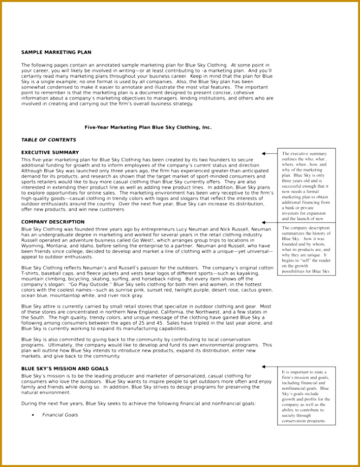Marketing Plan Template Download for Microsoft Word 948732