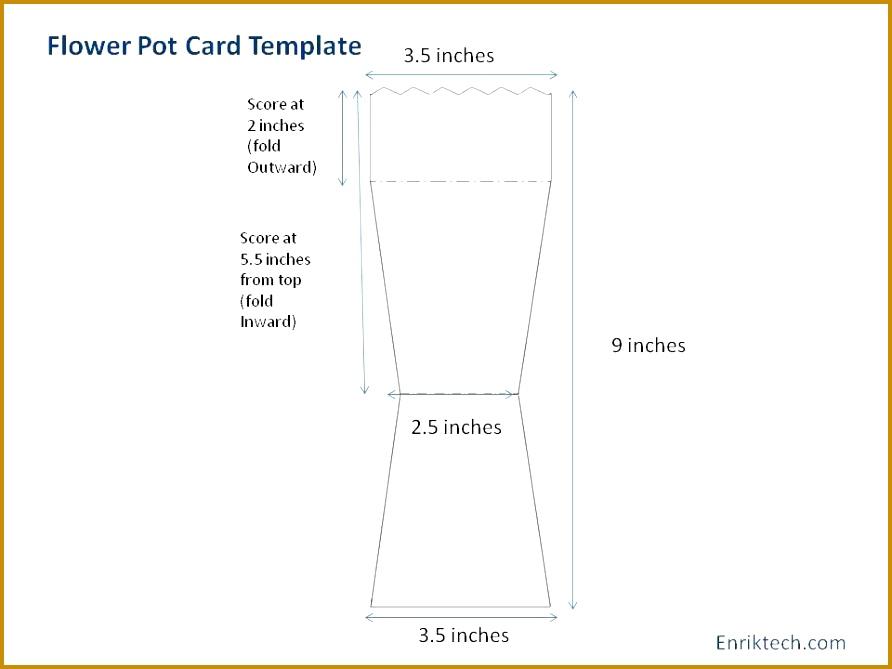 flower pot template flower pot card tutorial with templates enriktech 892669