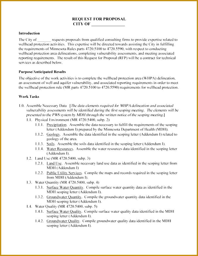 7 Meeting Proposal Template Fabtemplatez