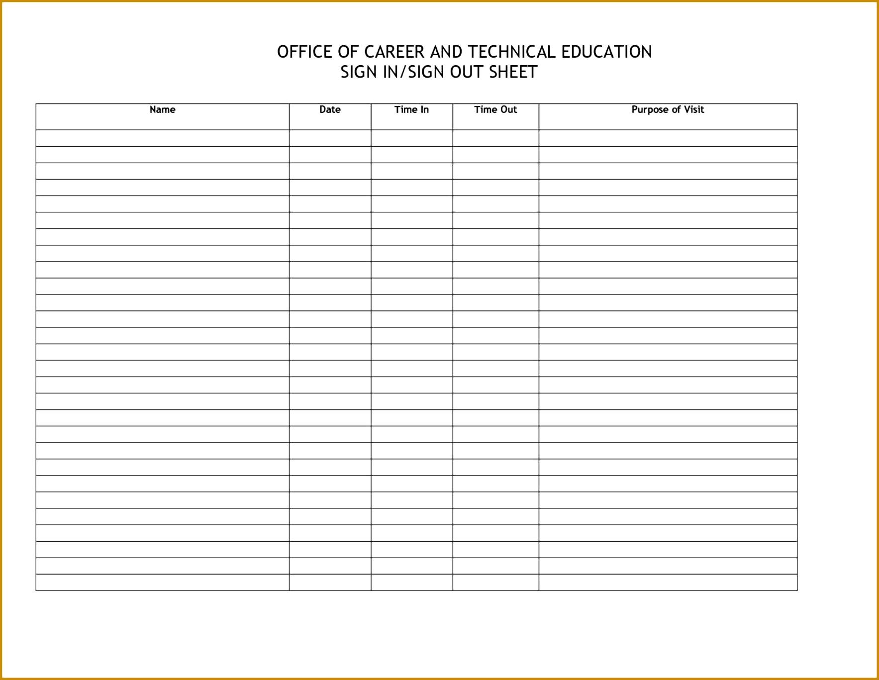 on best photos of visitor in printable best Sign Out Sheet Template Excel photos of visitor 17671367