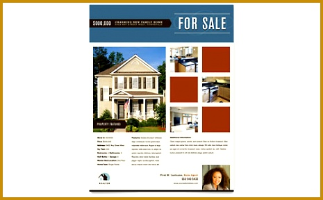Free Real Estate Brochure Template 288465