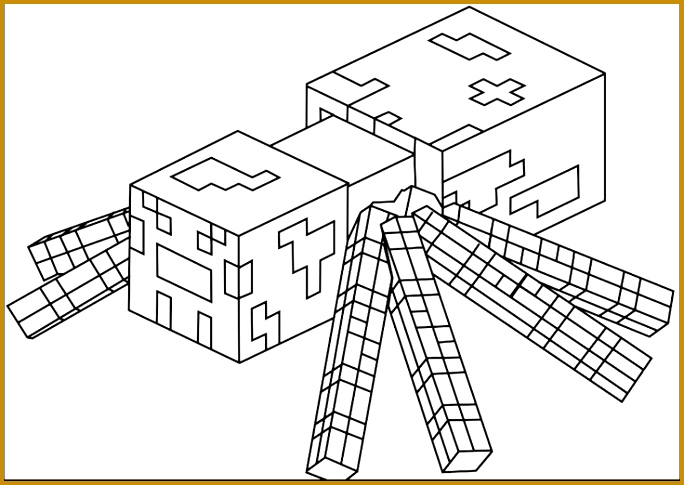 colouring minecraft minecraft coloring pages 485684