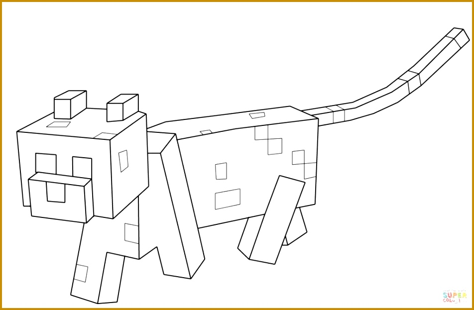 Minecraft Coloring Pages Stampy 623952